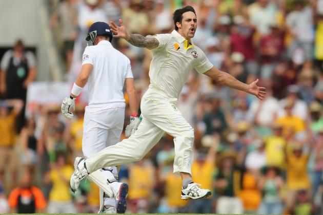 Ashes 2013-14: Can Mitchell Johnson Maintain His A-Game Through the Series?