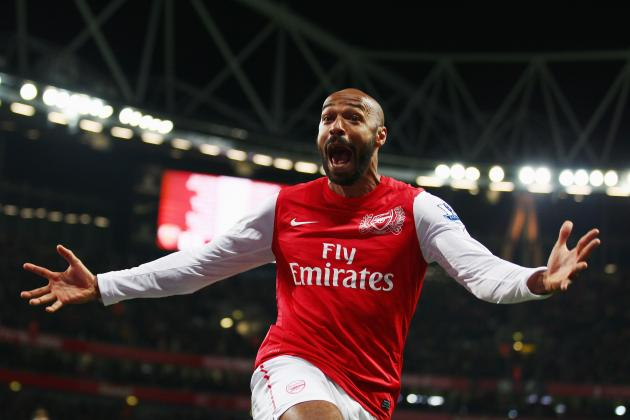Thierry Henry's Latest Arsenal Return Will Continue Olivier Giroud's Development