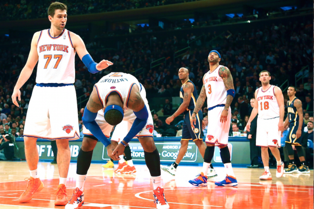 Playoff Rivals 6 Months Ago, Pacers and Knicks Are Now Worlds Apart