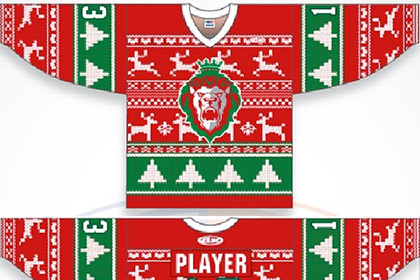 ECHL Team Will Wear 'Ugly Christmas Sweater' Jerseys on 'Teddy Bear Toss Night'