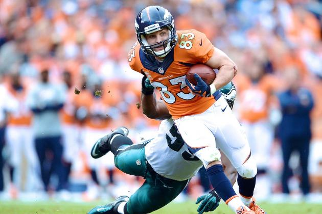 Wes Welker Injury: Updates on Broncos WR's Concussion, Likely Return Date