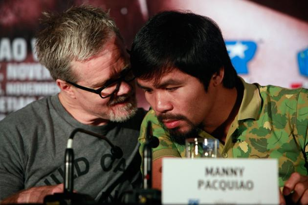 Manny Pacquiao Can't Allow Trainer's Beef to Distract Him