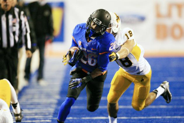Demas in Lineup Gives Boise State New Speedy Options