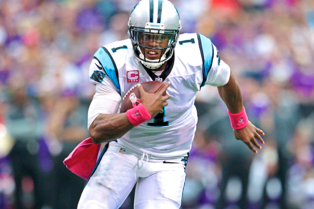 Carolina Panthers Quarterback Cam Newton Has Matured into an MVP Candidate