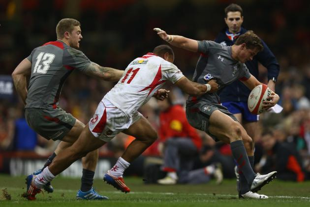Wales 17-7 Tonga: IRB Nominee Leigh Halfpenny Boots Welsh to Victory