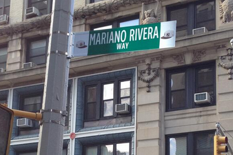 Mariano Rivera Talks Panama, A-Rod and More at Street Re-Naming Ceremony