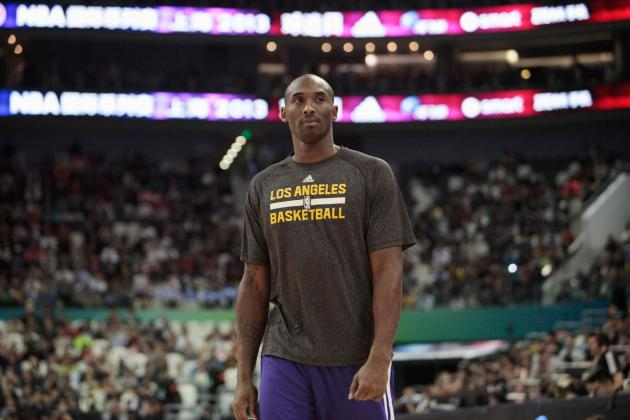 Kobe Bryant's Pending Return Does Not Make Los Angeles Lakers Legit Contender