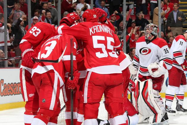 Two-Goal Game Earns Gustav Nyquist Stay with Wings for Season