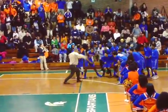 Connecticut High School Basketball Coach Has a Hilarious Pregame Intro Dance