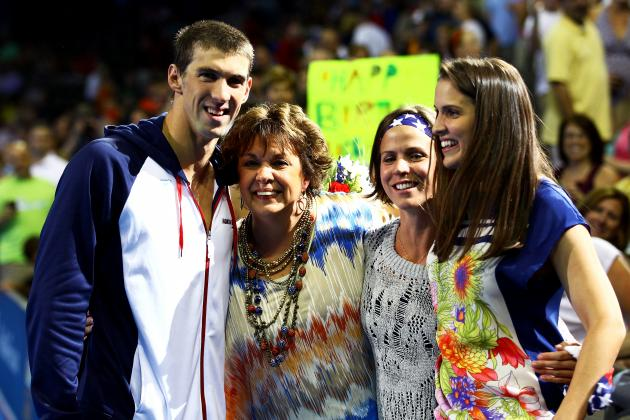 Michael Phelps' Mom's Desire for Son to Compete in 2016 Olympics Is Good Sign