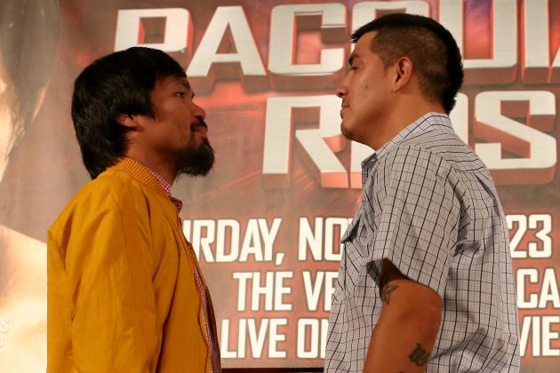 Manny Pacquiao and Brandon Rios Make Weight Ahead of Saturday Showdown in China