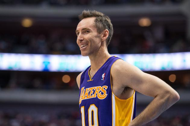 Lakers Rumors: Steve Nash Denying Reports of Possible Retirement