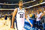 Grizzlies' Marc Gasol Out with MCL Sprain