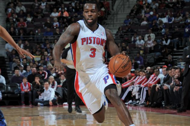 Detroit Pistons: Why the Pistons Need Rodney Stuckey to Make the Leap in 2013-14