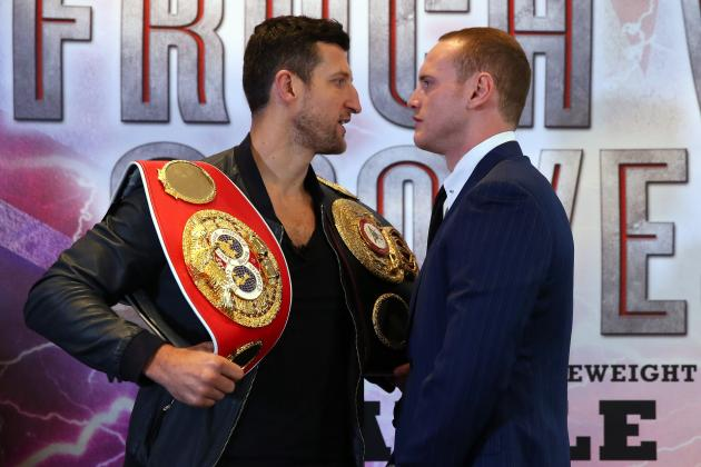 Boxing: What Time Does Carl Froch vs. George Groves Start?