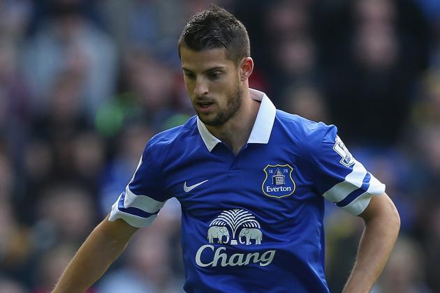 GIF: Kevin Mirallas Levels Merseyside Derby at 1-1 with Goal for Everton