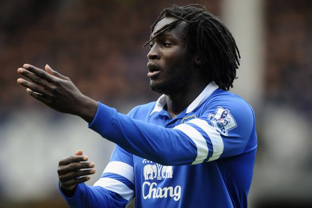 GIFS: Romelu Lukaku's Brace for Everton in Merseyside Derby