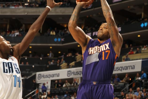 Channing Frye, Phoenix Suns Hold off the Charlotte Bobcats on the Road