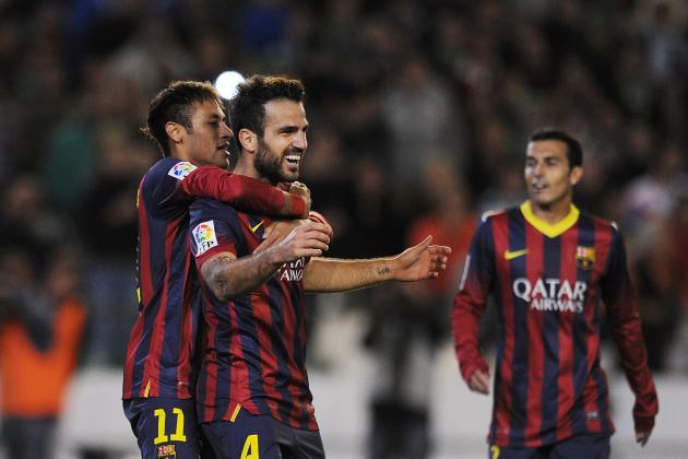 Barcelona vs. Granada: Live Player Ratings for Barcelona