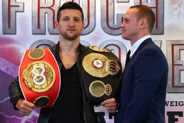 Froch vs. Groves: Complete Betting Guide to Anticipated Super-Middleweight Bout