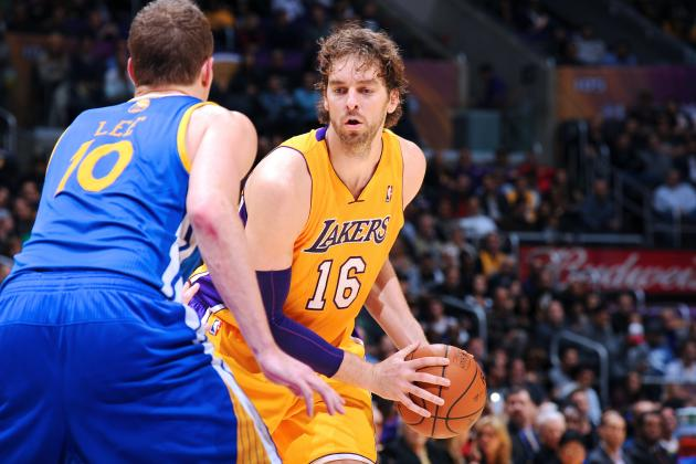 Pau Gasol Keeps LA Lakers Within Striking Distance of Western Conference Pack