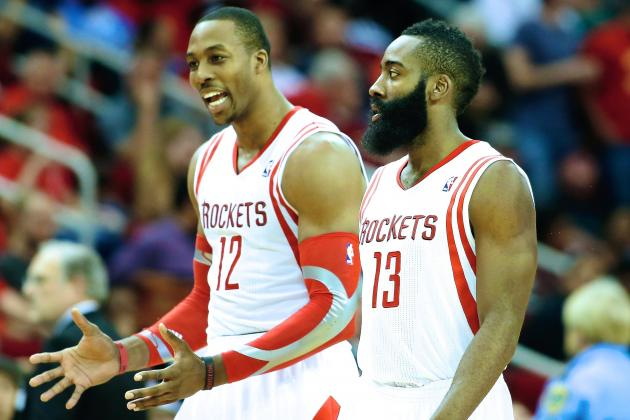 How Well Are James Harden and Dwight Howard Meshing Together so Far?