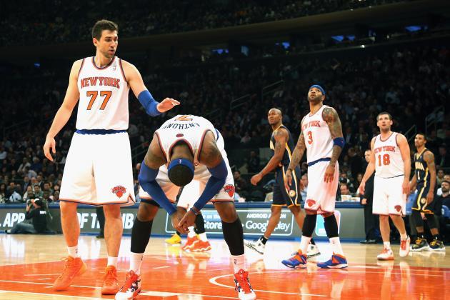New York Knicks vs. Washington Wizards: Live Score and Analysis