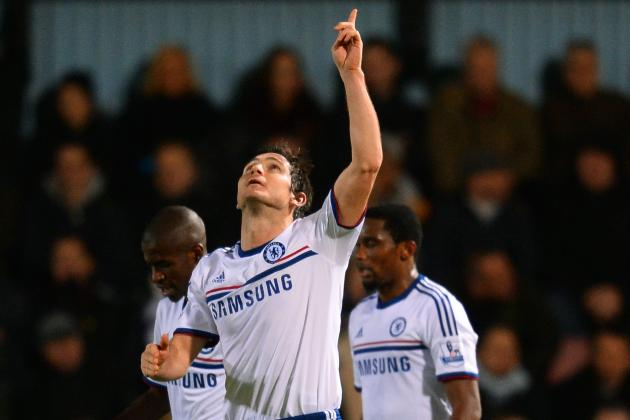 GIF: Frank Lampard Puts Chelsea Ahead of West Ham with Penalty