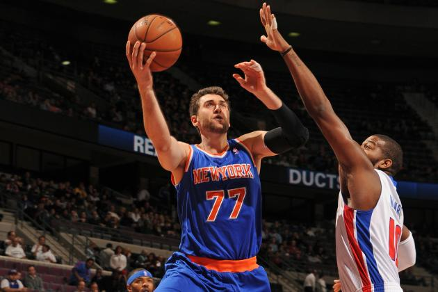 Andrea Bargnani Is Proving to Be Solid Addition for NY Knicks Amidst Turmoil