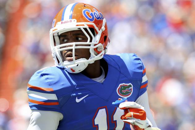 Florida WR Demarcus Robinson Suspended for Remainder of Season