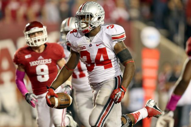 Indiana vs. Ohio State: Live Game Grades and Analysis for the Buckeyes