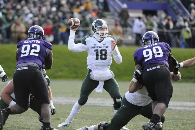 Connor Cook's Confidence Helps Michigan State Clinch Big Ten Title Game Berth