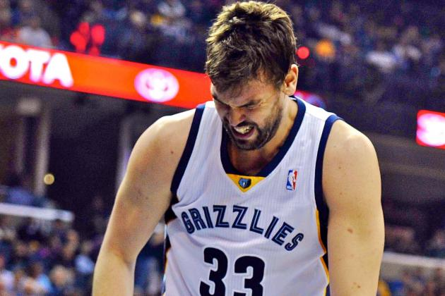 How Do Memphis Grizzlies Survive Marc Gasol's MCL Recovery Period?