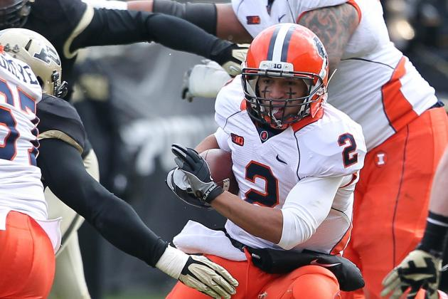 Hull, Scheelhaase Lead Illinois over Purdue 20-16