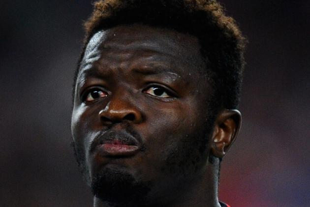 Muntari Departs at Halftime with Injury