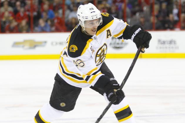 Krejci Lifts Surging Bruins Past Canes in OT