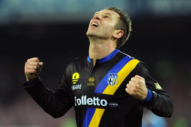 Parma's Late Goal Downs Napoli 1-0