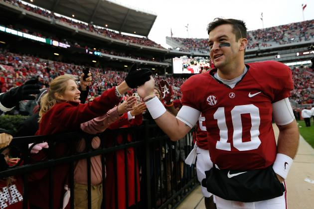 AJ McCarron's Updated 2013 Heisman Outlook After Win vs. Chattanooga