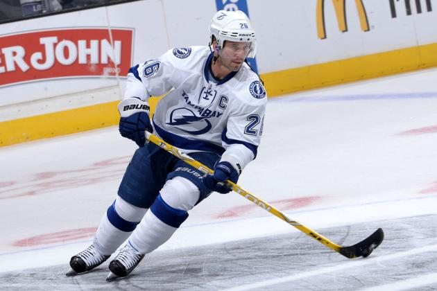 Can Ageless Martin St. Louis Carry Lightning's Offense Without Steven Stamkos?