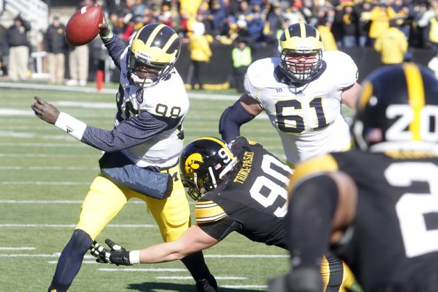 Michigan's Struggles vs. Iowa Prove Wolverines Have No Shot Against Ohio State