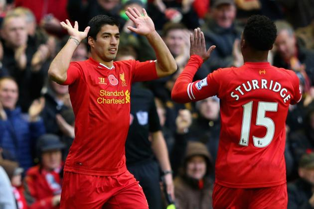 Suarez and Sturridge: Is Liverpool's Free-Scoring Attack Enough to Take Top 4?