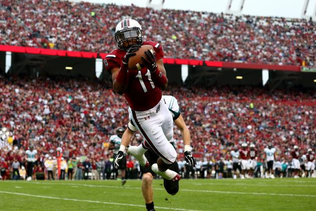 South Carolina Shows New Offensive Wrinkles in Tuneup for Clemson