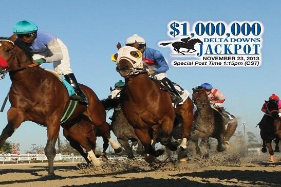 Delta Downs Jackpot 2013 Results: Winner, Payouts and Order of Finish