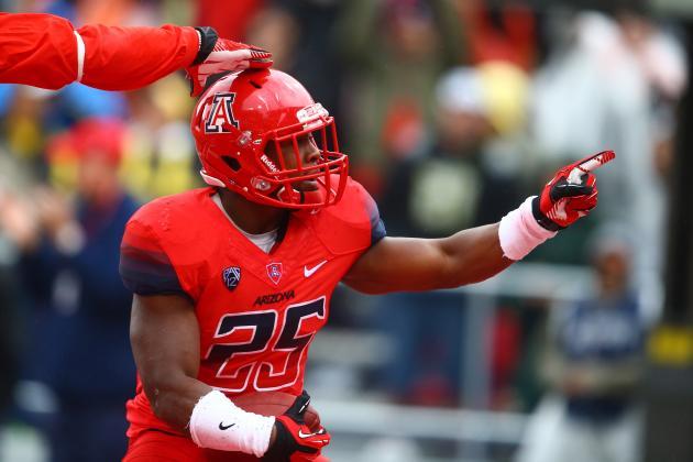 Ka'Deem Carey Updated 2014 NFL Draft Stock After Win over Oregon