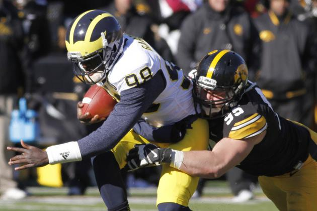 Michigan vs. Iowa: Wolverines Defense Deserves Better from Offense