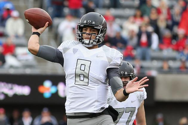Marcus Mariota's Updated 2013 Heisman Outlook After Loss to Arizona