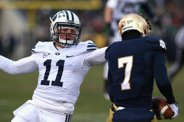 McDaniel Helps Irish Bounce Back, Beat BYU