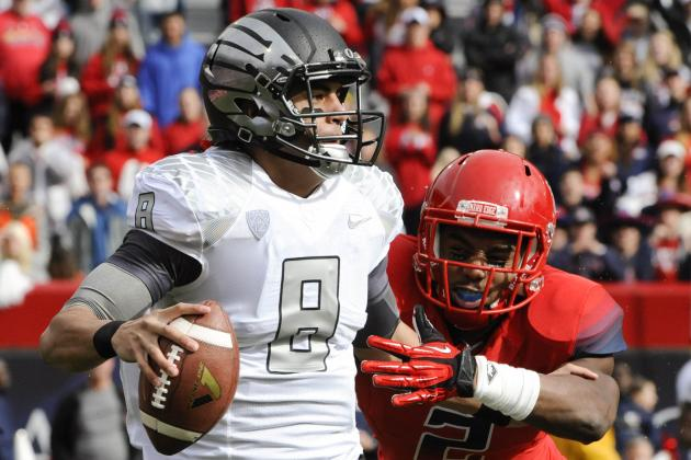 Heisman Watch 2013: How Marcus Mariota's Injury Shakes Up Race
