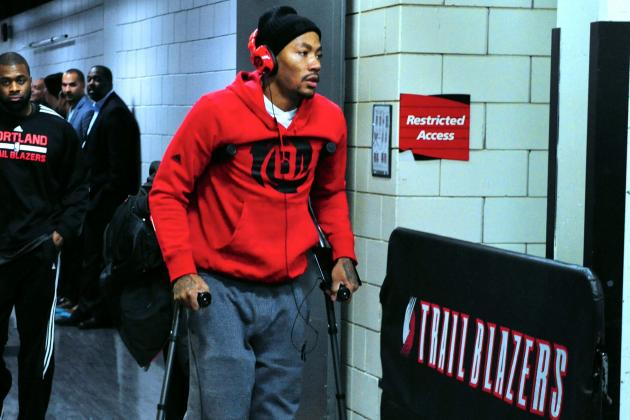 What's Next for Derrick Rose After His Knee Injury?