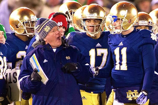 Notre Dame's Future Looks Bright with Talent in Place, Everett Golson Returning